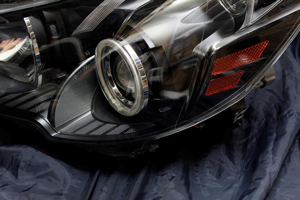 BM/BR レガシィ ヘッドライト LED加工