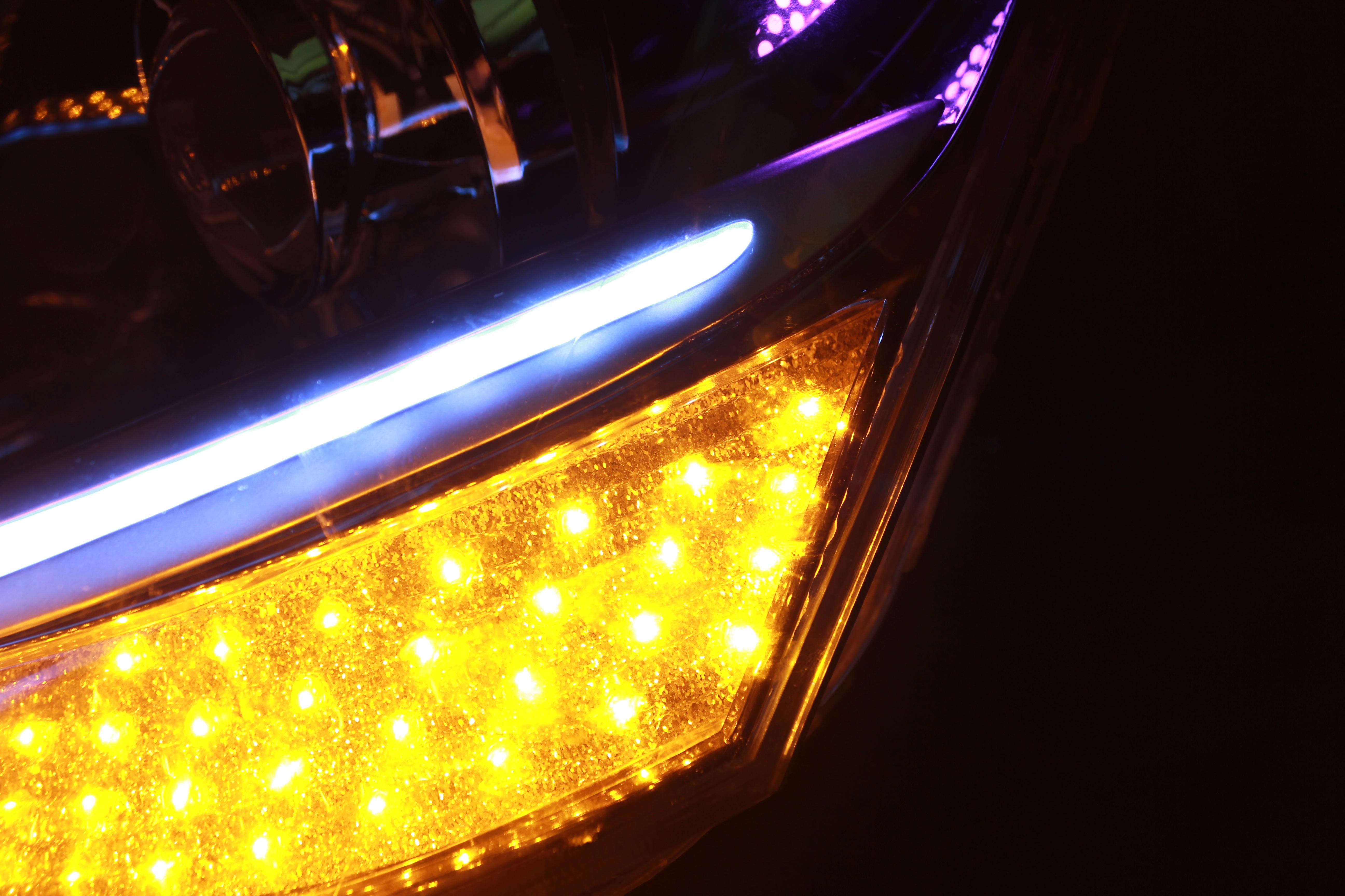 30セルシオ ヘッドライト LED加工