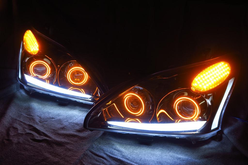 ACU30 ハリアー ヘッドライト LED加工