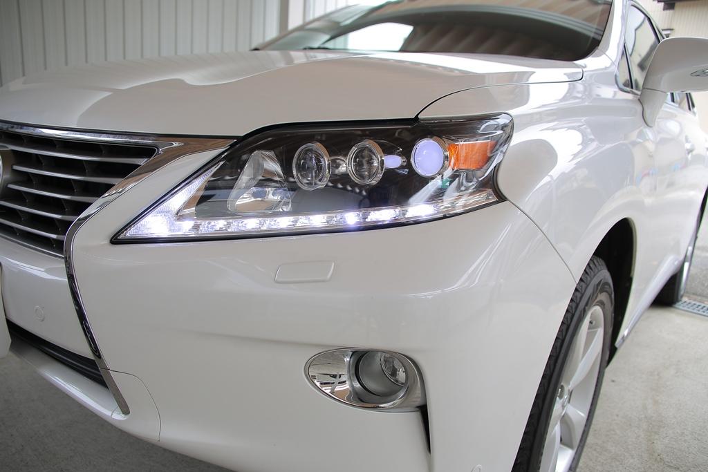 RX450h LED シーケンシャルウインカー ヘッドライト加工
