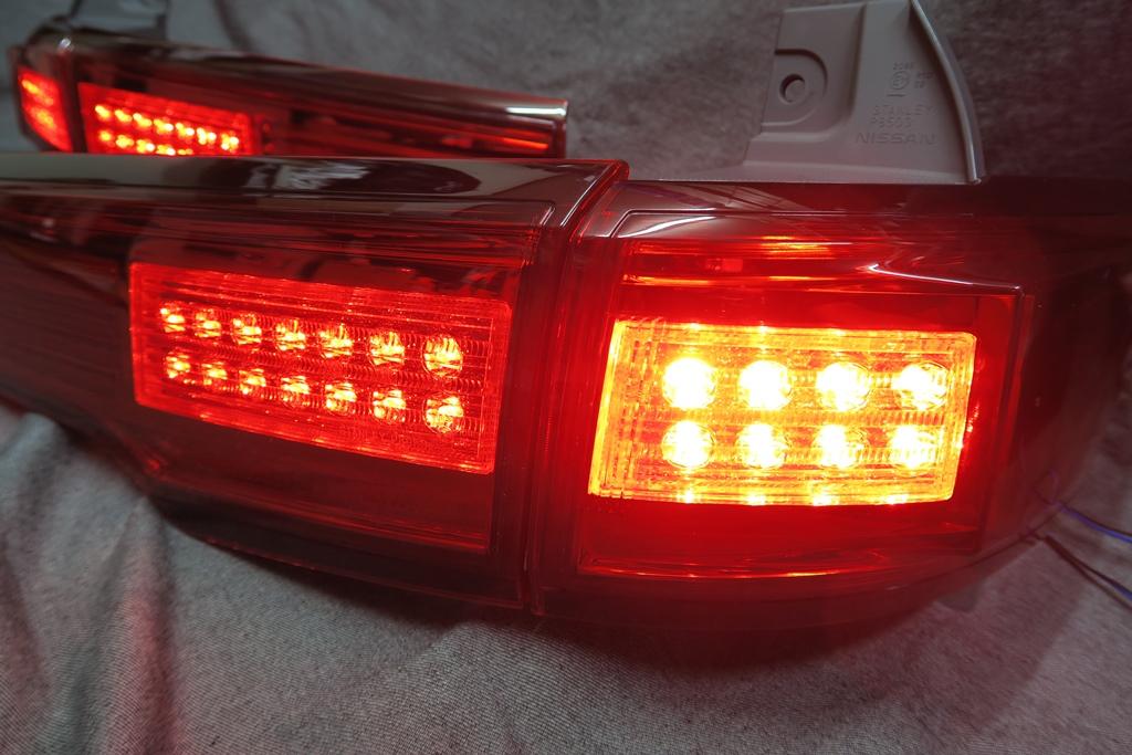 E52 エルグランド LED加工 シーケンシャルウインカー テールランプ