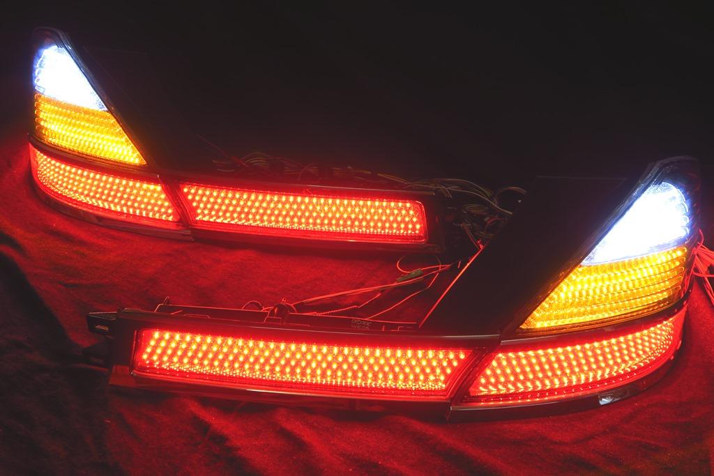 RB1/2 オデッセイ 後期 LED加工 シーケンシャルウインカー テールランプ