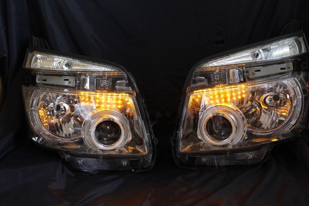 ZRR70 ヴォクシー ヘッドライト LED加工