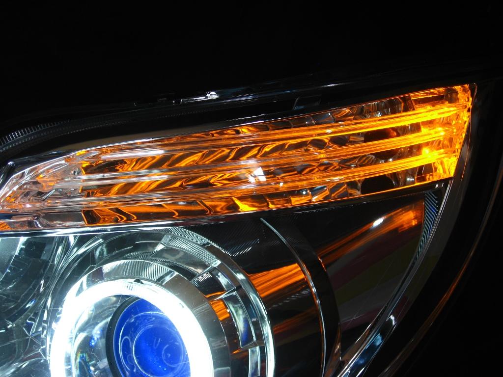 MK21S パレットSW ヘッドライト LED加工