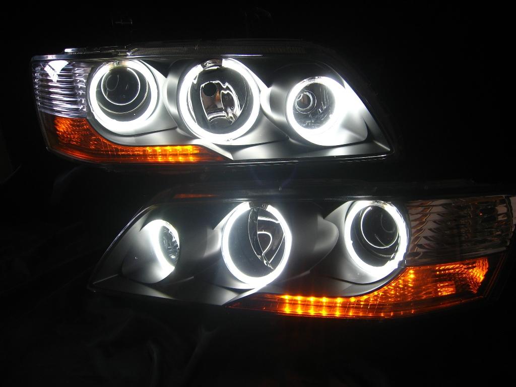 CT9A ランサーエボリューション9 ランエボ9 ヘッドライト LED加工