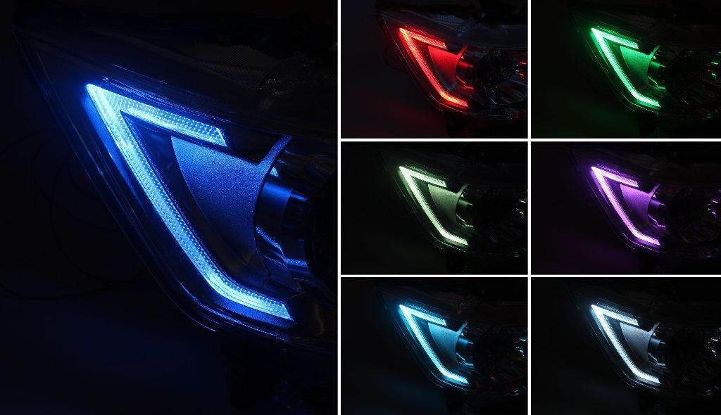 MH34S ワゴンR スティングレー ヘッドライト LED加工