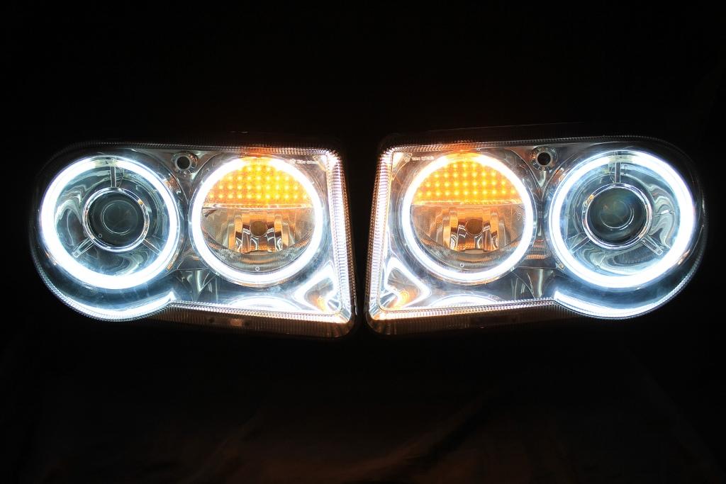 300C ヘッドライト LED加工