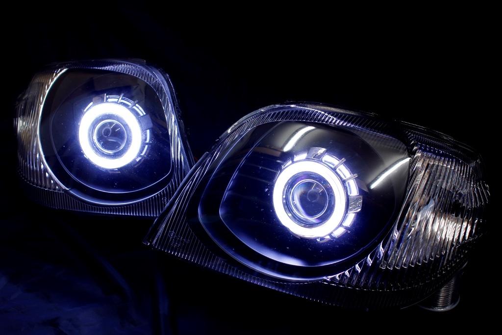 HN22S Kei ヘッドライト LED加工