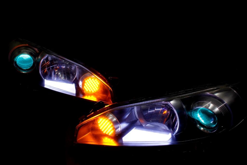 ZGE20 ウィッシュ ヘッドライト LED加工