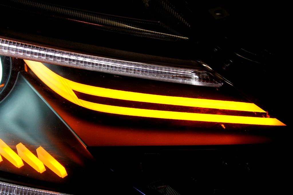 GRX13 マークX ヘッドライト LED加工