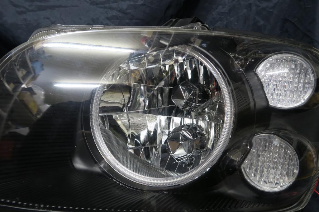 M35 ステージア ヘッドライト LED加工