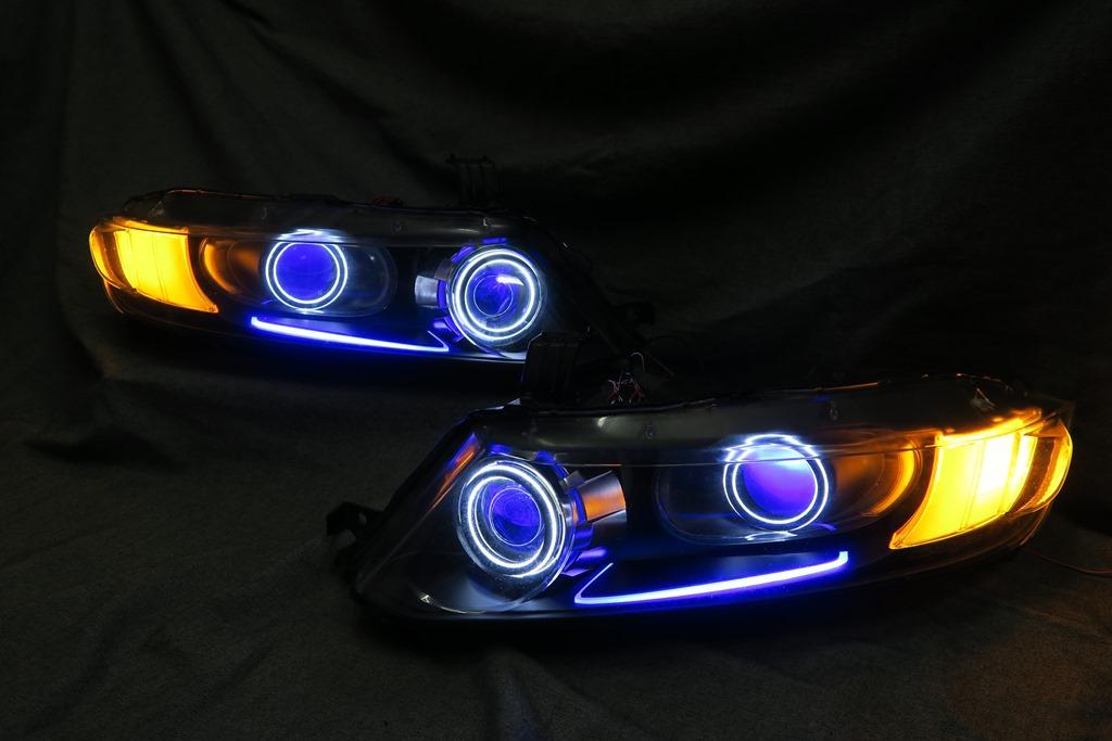 RB1/2 オデッセイ ヘッドライト LED加工