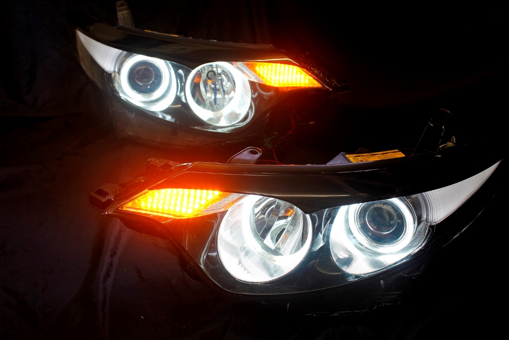 ACR50 エスティマ ヘッドライト LED加工