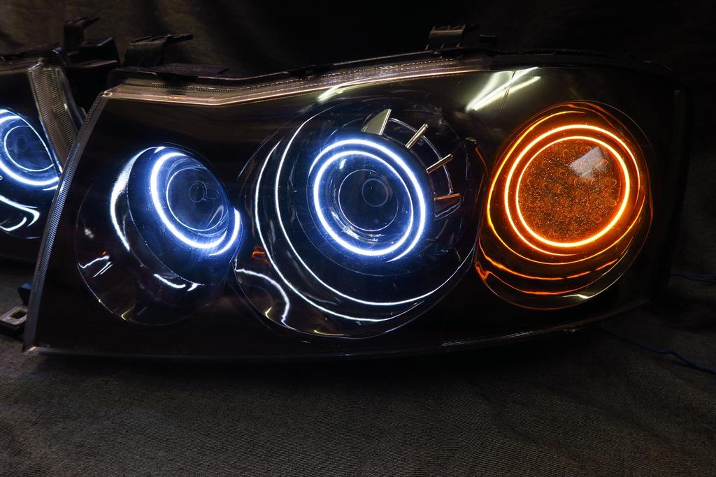 34グロリア ヘッドライト LED加工