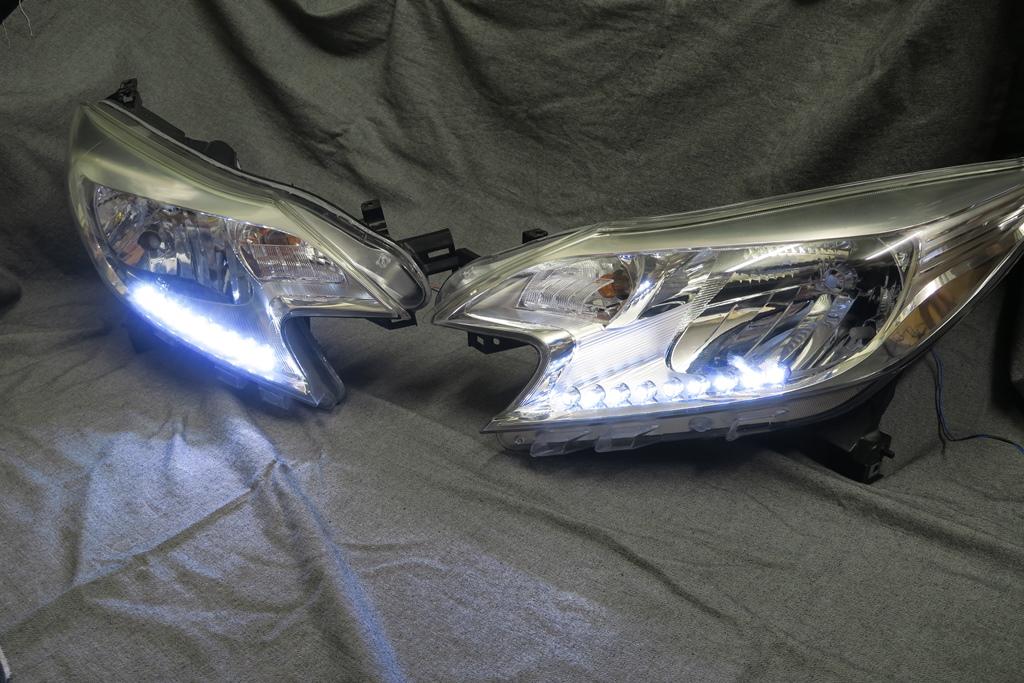 E12 ノート LED ヘッドライト加工