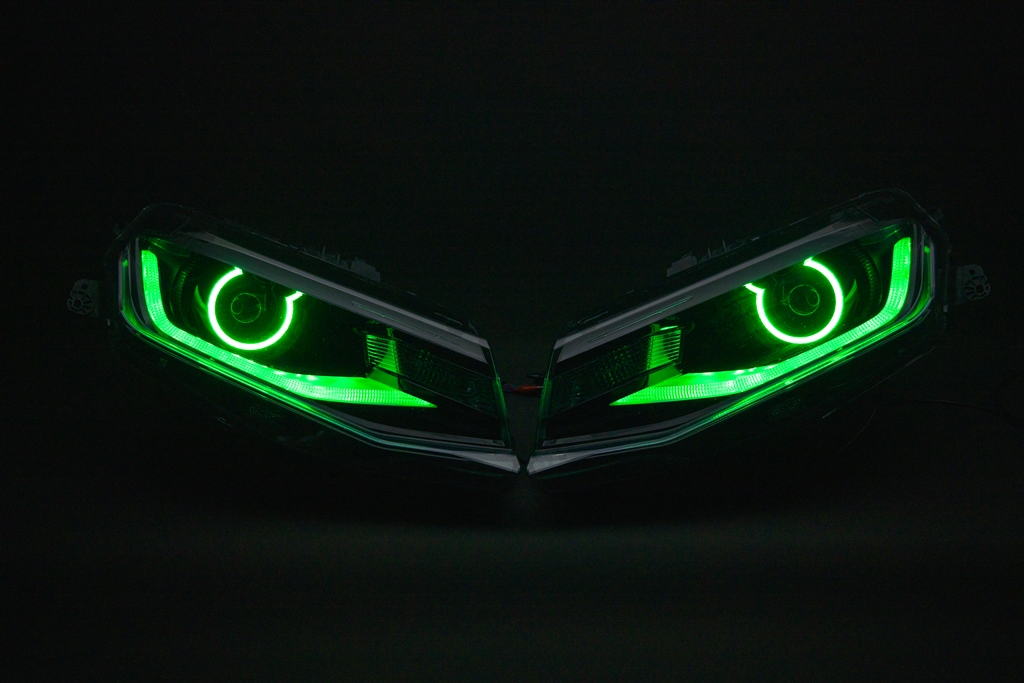 カマロ フルカラーLED ヘッドライト