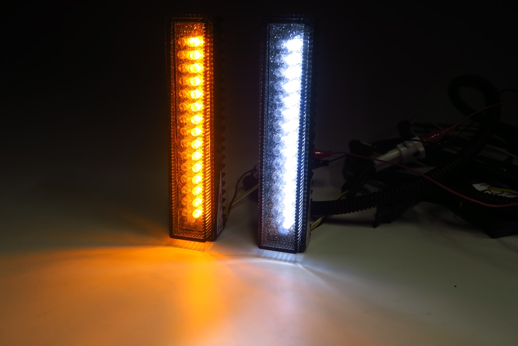 E52 エルグランド 純正加工LEDデイタイムランプ